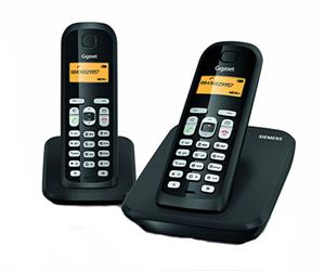 Gigaset AS300 DUO Cordless Telephone